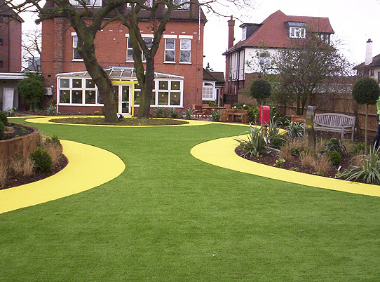 St Martins Care Home Dementia Garden