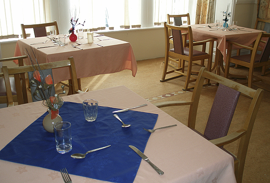 Sandringham Care Home dinning room